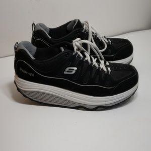 Skechers SHAPE-UPS black women's size 7.5